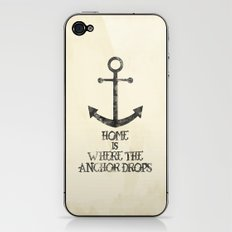 Where The Anchor Drops iPhone & iPod Skin