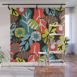 Falling Leaves Wall Murals
