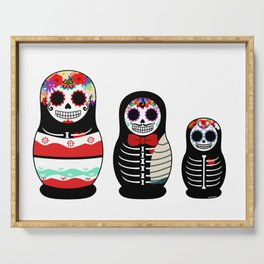 Halloween Russian dolls Serving Tray