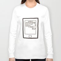 text Long Sleeve T-shirts featuring Text by itishazel