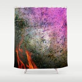 Lunam ignis Shower Curtain