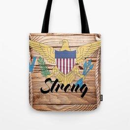 Virgin Islands Strong Tote Bag