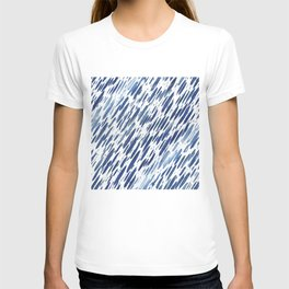 Boho Blue Brushstroke T-shirt