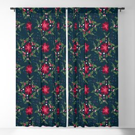 Joy to The Birds Collection: Patterns Blackout Curtain