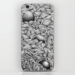 Sinking into the space iPhone Skin
