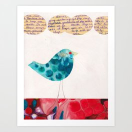 Things My Mother Taught Me Art Print