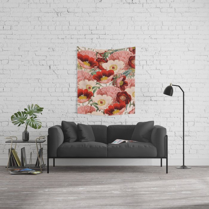 Vintage Garden #society6 Wall Tapestry