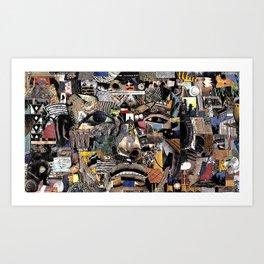 Paper Trail (Still Frame 3) Art Print
