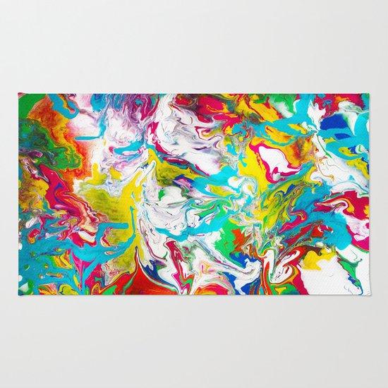 Gravity Painting 8 Rug