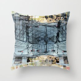 Summer space, smelting selves, simmer shimmers. 27 Throw Pillow