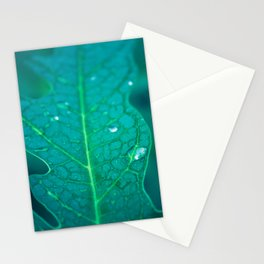 Papaya leaf morphology Stationery Cards