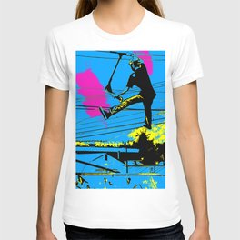 Tailgating - Stunt Scooter Tricks T-shirt
