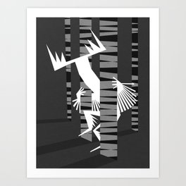 Prankster spirit Art Print