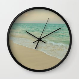 Shoreline II Wall Clock
