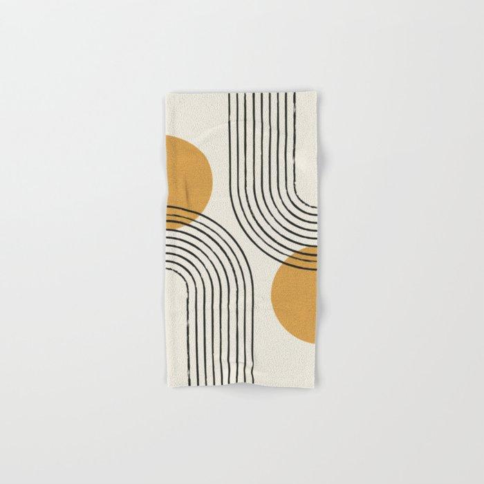 Sun Arch Double - Gold Hand & Bath Towel