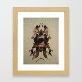 Tantrum Framed Art Print