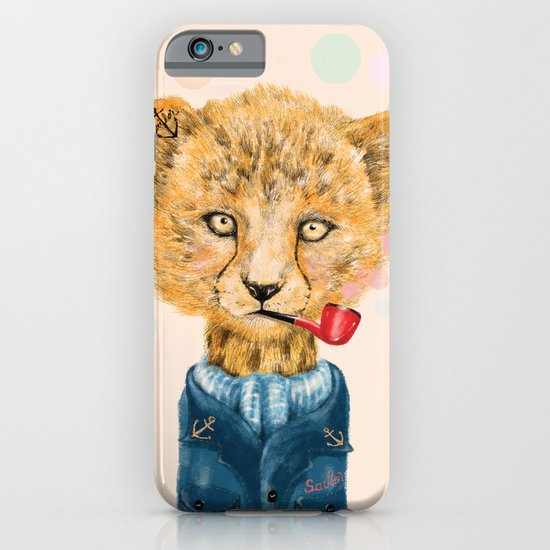 Cheetah Sailor iPhone & iPod Case