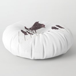 A Great Composition Floor Pillow