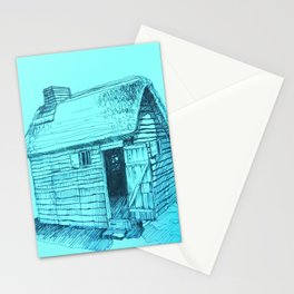 Turquoise New World Stationery Cards