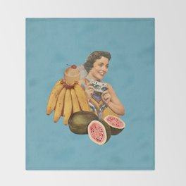 Tropical Vacation Throw Blanket