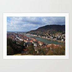 Heidelberg Art Print