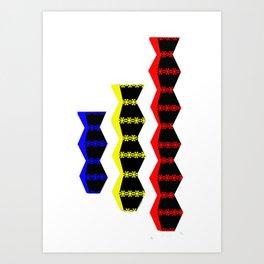 Brancusi Modern Design  Art Print