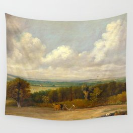 """John Constable """"Ploughing Scene in Suffolk"""" Wall Tapestry"""