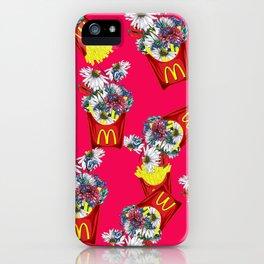 Botanical Mcdonalds Sweet-Rose iPhone Case