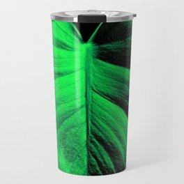 Monstera Leaves Travel Mug