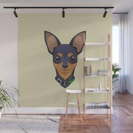Pinscher Cute Wall Mural
