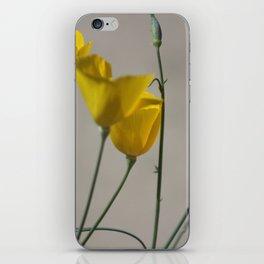 Yellow California Poppies At Coachella Wildlife Preserve iPhone Skin
