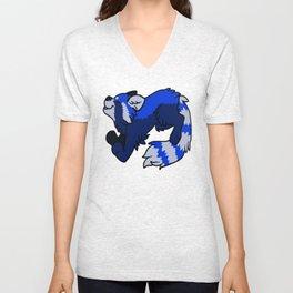 Blue Panda  Unisex V-Neck