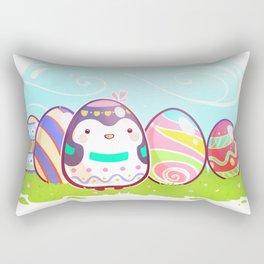 Easter Penguin Rectangular Pillow