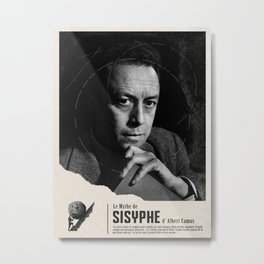 The Myth of Sisyphus by Albert Camus Metal Print
