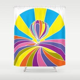 Sonoma County Sunrise Shower Curtain