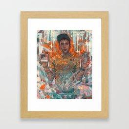 Sufjan Framed Art Print