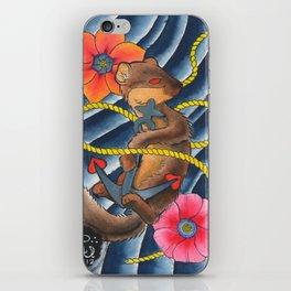 Don't Weasel Around iPhone Skin