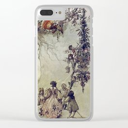 """The Fairies Ascent"" by A. Duncan Carse Clear iPhone Case"
