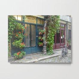 Paris Passage Metal Print