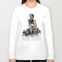 daryl dixon Long Sleeve T-shirts featuring Daryl Dixon by Huebucket