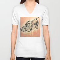 kiki V-neck T-shirts featuring Kiki by Perri MacKenzie