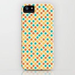 Vintage Dots iPhone Case