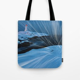 Whipping Winds Tote Bag