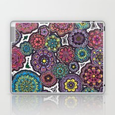 Psychedelic Flowers Laptop & iPad Skin