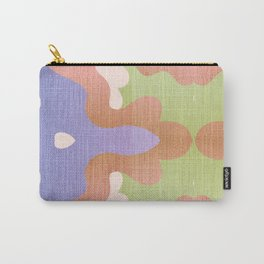 Psychedelic Granny Knit Blanket Carry-All Pouch