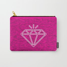 diamond magenta Carry-All Pouch