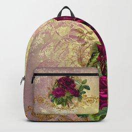 Decadent Velvet Rose Backpack
