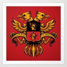 Crest de Chocobo Art Print