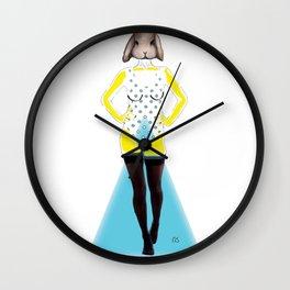 Baby K Wall Clock