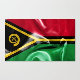 Vanuatu Flag Canvas Print